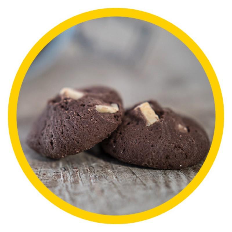 White Choco Cookies